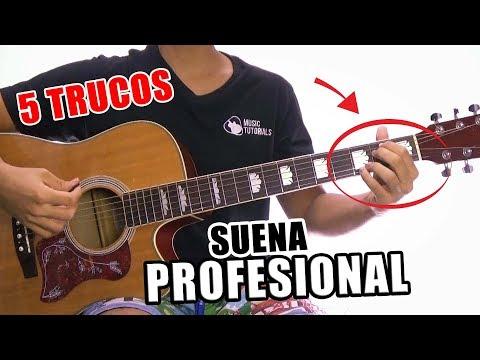 5 Trucos Para SONAR Como un PROFESIONAL en la Guitarra