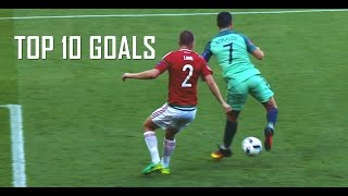Cristiano Ronaldo - Top 10 Goals in 2015/16 | Real Madrid | HD
