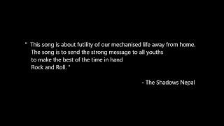 Aath Din - The Shadows Nepal | Lyrics Video