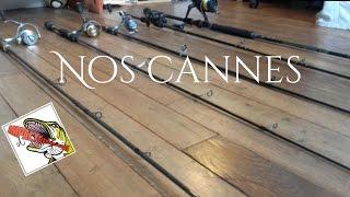 Nos cannes pour la pêche au carnassier #1 | GoproHD