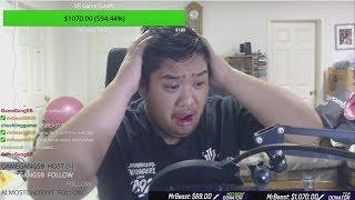 Donating $10,000 To Random Twitch Streamers