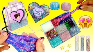 The Best Slime Kit Ever - Glam Goo Deluxe Toy Review  - Slime Purse & Storage