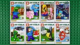 LEGO Minecraft Minifigures (knock-off) Sheng Yuan SY648