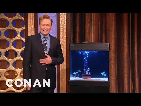 Conan Reunites With Samuel The Octopus CONAN on TBS