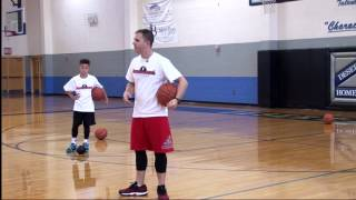 Incredible Basketball Drill for Learning How to Stop Effectively - Micah Lancaster