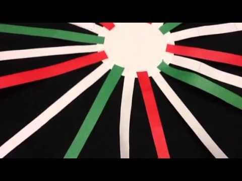 Manualidad de Campanas Tricolor