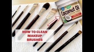 How to Clean Makeup Brushes - THE CORRECT METHOD IN ACTION!
