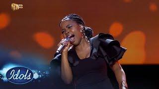 Top 8 Reveal: Yanga - 'Try Sleeping With A Broken Heart' –  Idols SA   Mzansi Magic