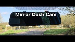 FHD 1080p Mirror  Dash Cam Review