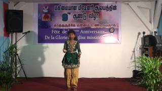 Tamil Christian Dance - Manavalan Varaporaru