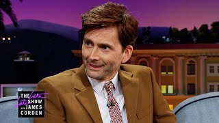 David Tennant Got Very Familiar with a 'Dr. Who' Fan