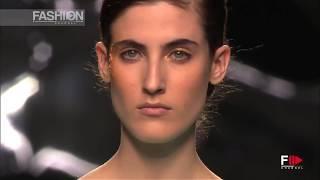 MAYA HANSEN Mercedes Benz Madrid FW Fall 2016 2017 by Fashion Channel