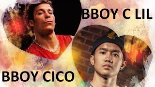 BBOY C LIL vs BBOY CICO - Who is better 2015