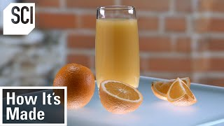 How Orange Juice Is Made in Factories | How It