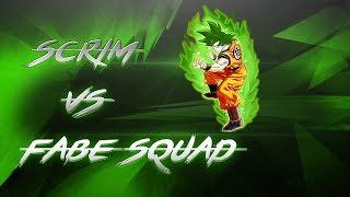 🔥[BO3] Scrim vs fabE Squad |2x U100| Read Desc.🔥