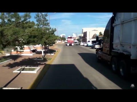 Atravesando Guadalupe Victoria Durango.