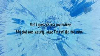 Save Myself - Ed Sheeran Lyrics