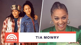 'Sister, Sister' Star Tia Mowry Reacts To Pictures Of Herself 25 Years Later | TODAY
