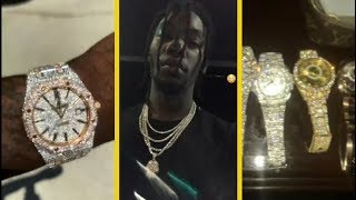 "Offset Migos ""Shows Off His $750K Collection Of Watches"""
