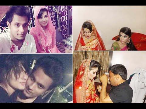 ফাঁস হলো মাহি তার কথিত স্বামীর বিয়ের গোপোন ছবি mahi and his x husband leaked wedding picture