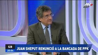 ATV+ | Juan Sheput habla sobre su renuncia a Peruanos Por el Kambio