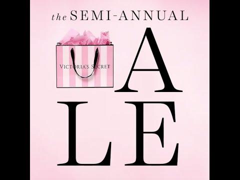 Victoria's Secret Semi Annual Sale Haul Summer 2016 (My first video!)