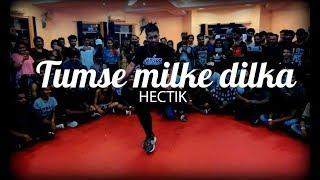Tumse milke dilka - Hectik Krump | Urban Dance Week 5 | Pune 2017