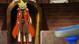Beyblade Metal Fusion - Gingka vs Phoenix Round 2