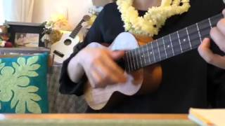 'A'Oia !  ☆ Hawaiian song ☆ ukulele