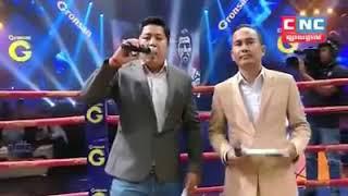 Prum Samnang vs Iran CNC Khmer boxing 07/12/2018
