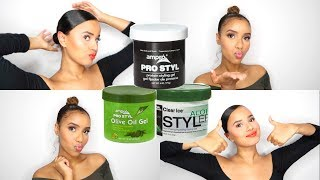 SLAY: THE BEST SLICKED LOOKS! (USING AMPRO STYLING GEL)