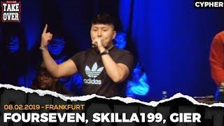 TopTier Takeover Frankfurt: 08.02.19 Die Cypher feat. Fourseven, Skilla 199 uvm.