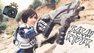 Sarah Ryder IN REAL LIFE! [Mass Effect Andromeda Cosplay Photoshoot]