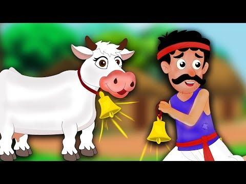 Xxx Mp4 सुनहरी घंटी वाली गाय Magical Cow With A Golden Bell Hindi Kahaniya For Kids Moral Stories 3gp Sex