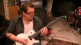 Children Of Bodom - Downfall - Guitar Lesson by Mike Gross