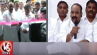 Minister Nayani Narasimha Reddy Inaugurates Gachibowli PS Complex | Hyderabad | V6 News