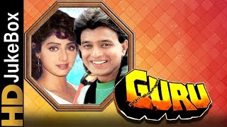 Guru 1989 | Full Video Songs Jukebox | Mithun Chakraborty, Sridevi, Nutan, Shakti Kapoor
