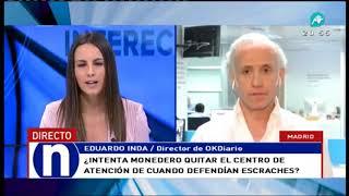 Eduardo Inda se mofa de la hipoteca de Iglesias y Montero