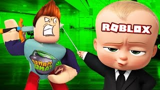 HUNTING BOSS BABY IN ROBLOX!