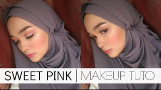 MAKEUP TUTORIAL   Pink With White Eyeliner