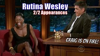 "Rutina Wesley - ""I Like It Sexy & Raw""- 2/2 Appearances With Craig Ferguson [720p]"