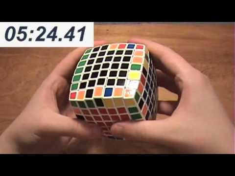 V-Cube 7 Solve 9:45.19