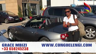 URGENT  GRACE MBIZI TRES FACHE,ASOMBI LISUSU VOITURE BMW Z AZA KO NOIKOLA BA JOURNALISTE YA INTERNET