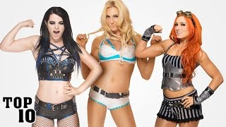 Top 10 Hottest WWE Divas