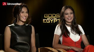 Interview Elodie Yung & Courtney Eaton GODS OF EGYPT