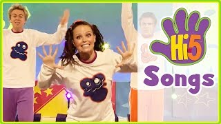 Hi-5 Songs | Happy Monster Dance & More Kids Songs - Hi5 Season 11 Songs of the Week