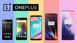 Evolution Of OnePlus Flagship Phones