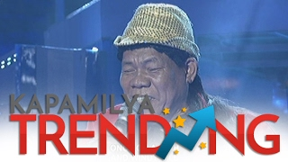 Arsenio Adlawan Jr. sings Love Is A Many Splendored Thing