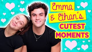 Emma Chamberlain and Ethan Dolan's Cutest Moments