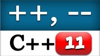 C++ Increment and Decrement Operators |  CPP Programming Video Tutorial